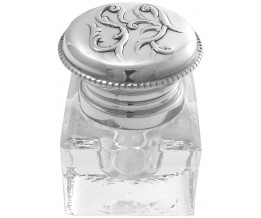Silver Gift Celtic Inkwell