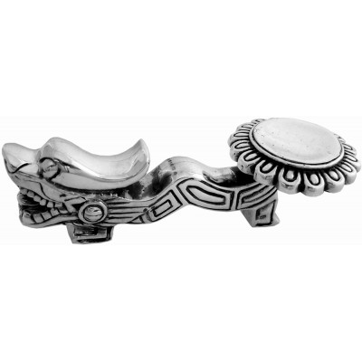 Silver Gift Dragon Spoon And Chopstick Rest
