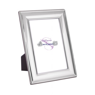 Photo Frame With Wooden Back 15cm x 10cm Sterling Silver