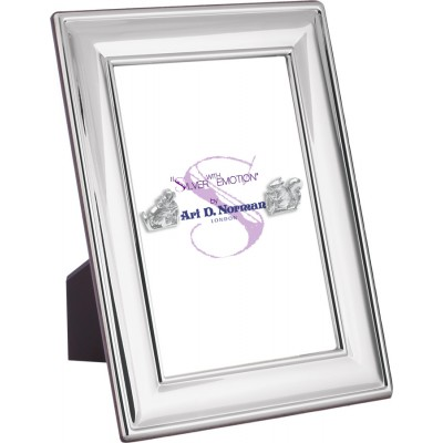 Photo Frame With Wooden Back 25cm x 20cm Sterling Silver