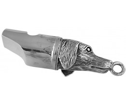 Gun Dog Whistle Sterling Silver