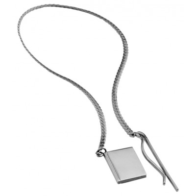 Square Chain Bookmark Sterling Silver