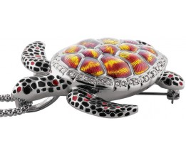 Turtle Brooch Pendant