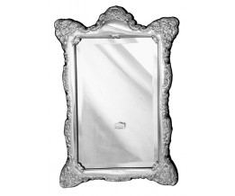 Sterling Silver Bezeled Victorian Antique style Vanity Mirror