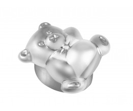 Sterling Silver Teddy Bear Pill Box